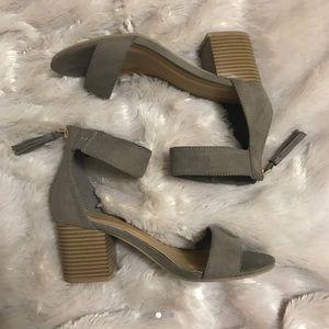 Cute block heel sandals